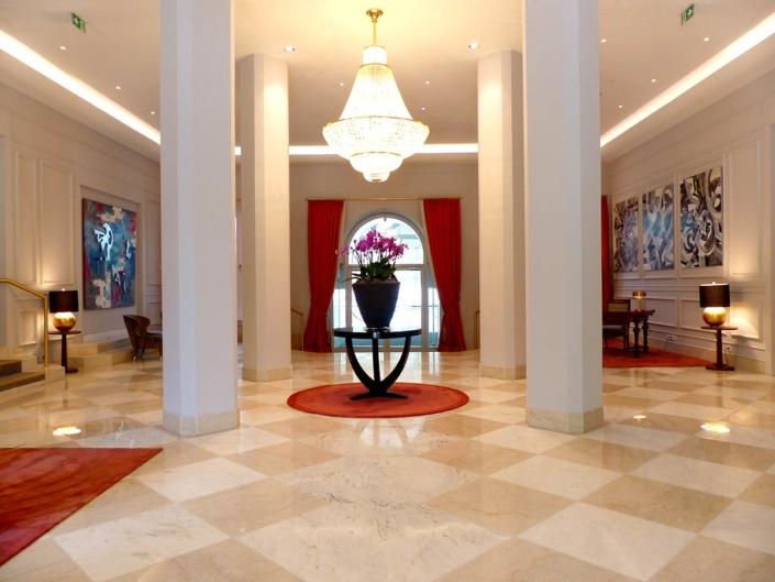 Ausstellung im Gästehaus der Geschichte, im Steigenberger Grandhotel auf dem Petersberg bei Bonn
