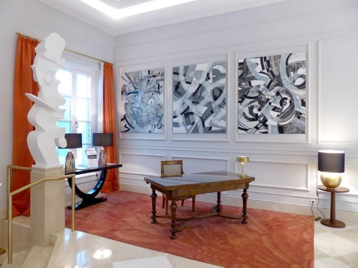 Ausstellung im Gästehaus der Geschichte, im Steigenberger Grandhotel auf dem Petersberg